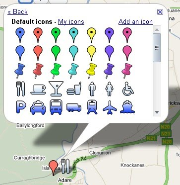 custom google maps icons. Google Maps Default Icons >>