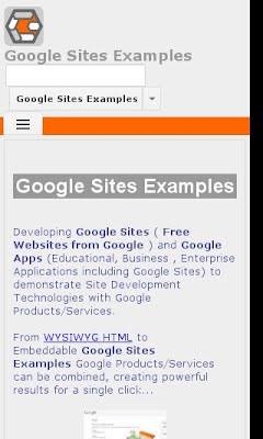Google Sites Design